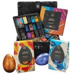 G&B Organic Easter Chocolate Gift Basket