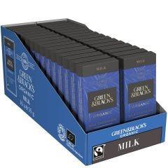 G&B Organic Milk 35g Bar (Box of 30)