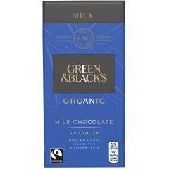 G&B Organic Milk 90g Bar