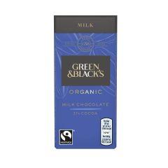 G&B Organic Milk 35g Bar