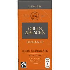 G&B's Organic Ginger 90g Bar