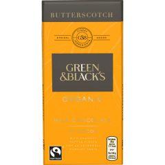 G&B Organic Butterscotch 90g Bar