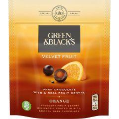 G&B Orange Velvet Fruit Bag 120g