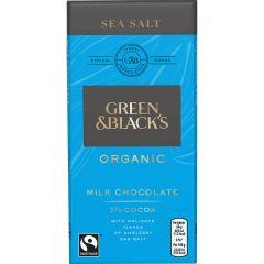 G&B Organic Sea Salt 90g Bar