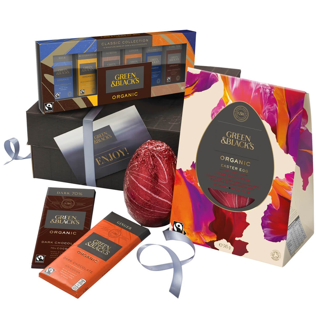 GB Organic Dark Easter Egg Collection Gift