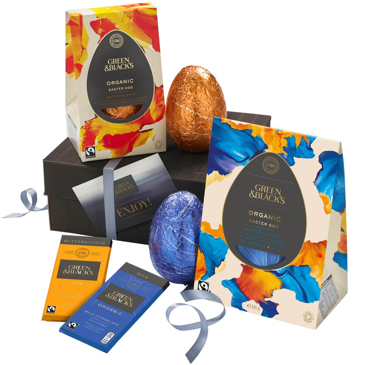 GB Organic Milk Easter Egg Collection Gift