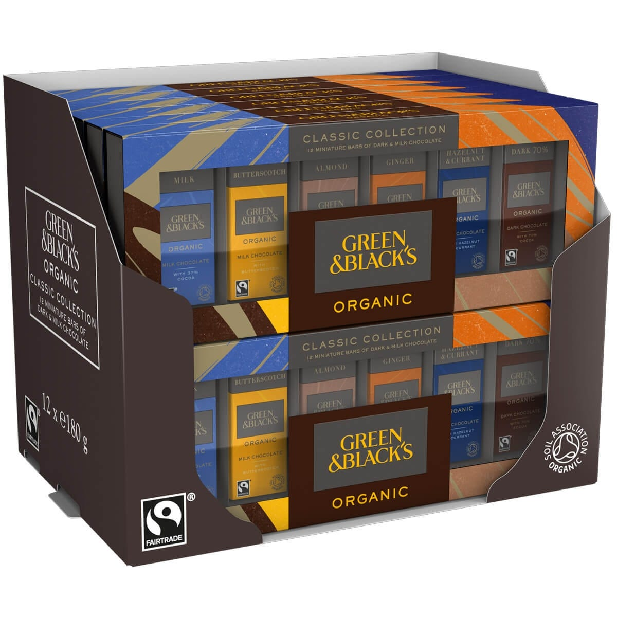 GB Classic Miniatures Bar Collection 180g (Box of 12)
