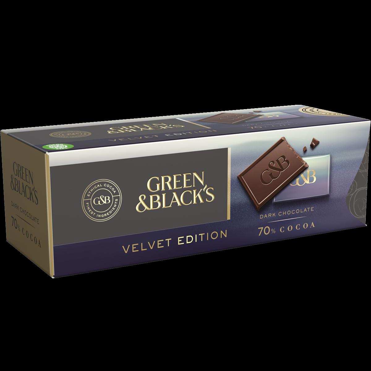 Green & Black's Dark Chocolate 70% Prism Box (Box of 9)