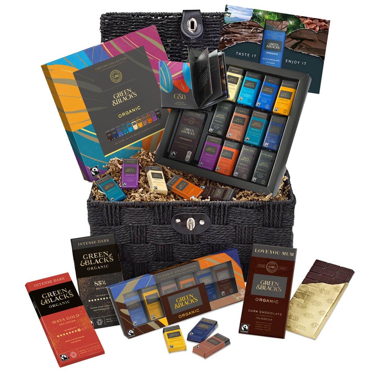 GB Love Dark Chocolate Basket