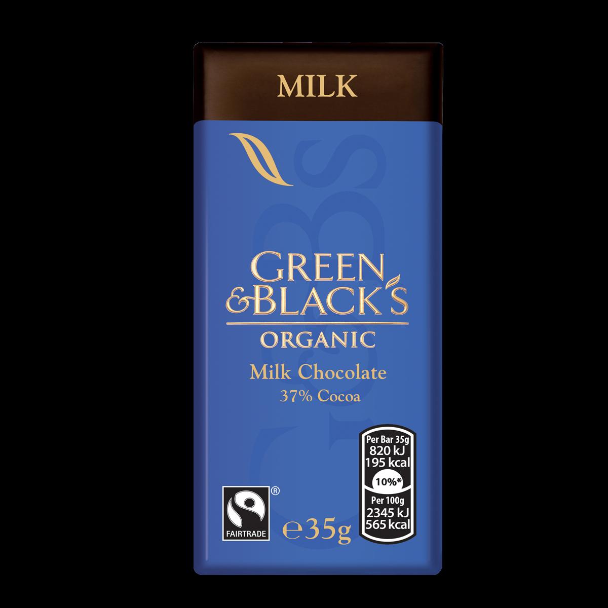 G&B's Milk 35g Bar (Box of 30)