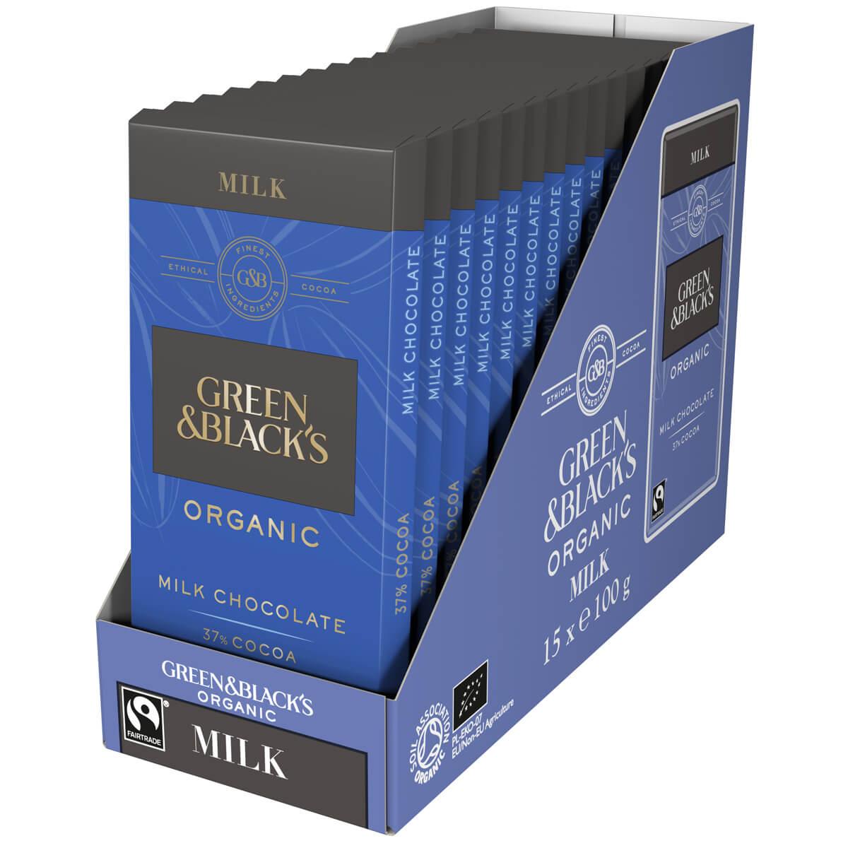 GB Organic Milk 90g Bar (Bo...
