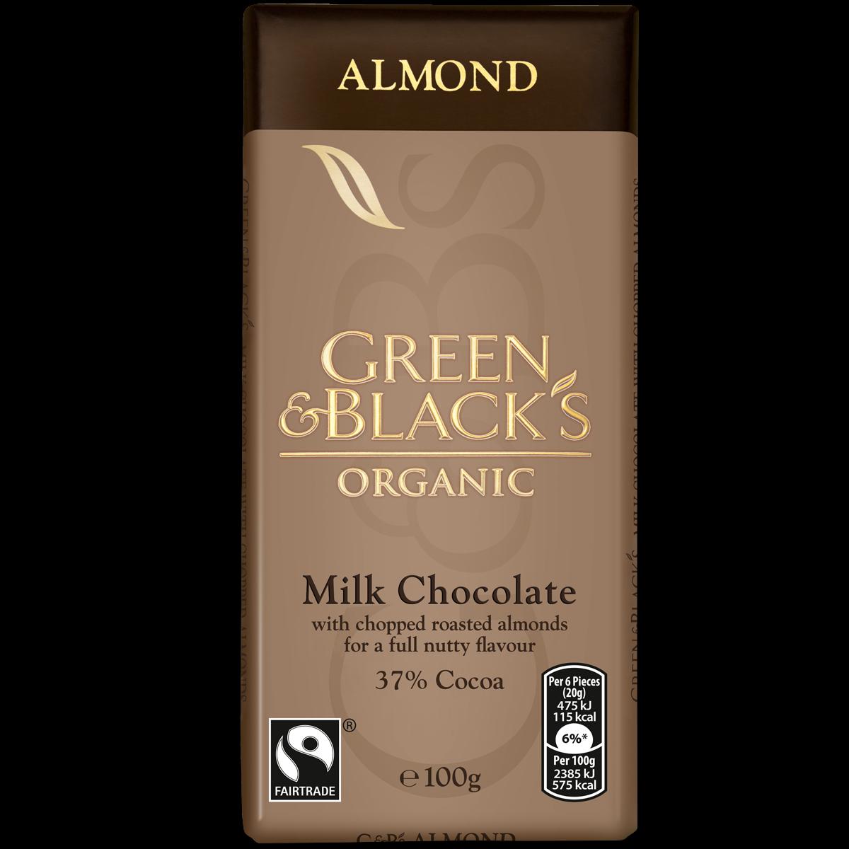 G&B's Almond 100g Bar (Box of 15)