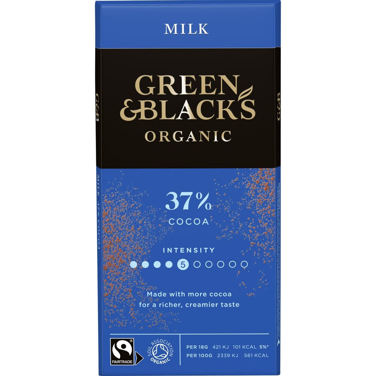 GB Organic Milk 90g Bar