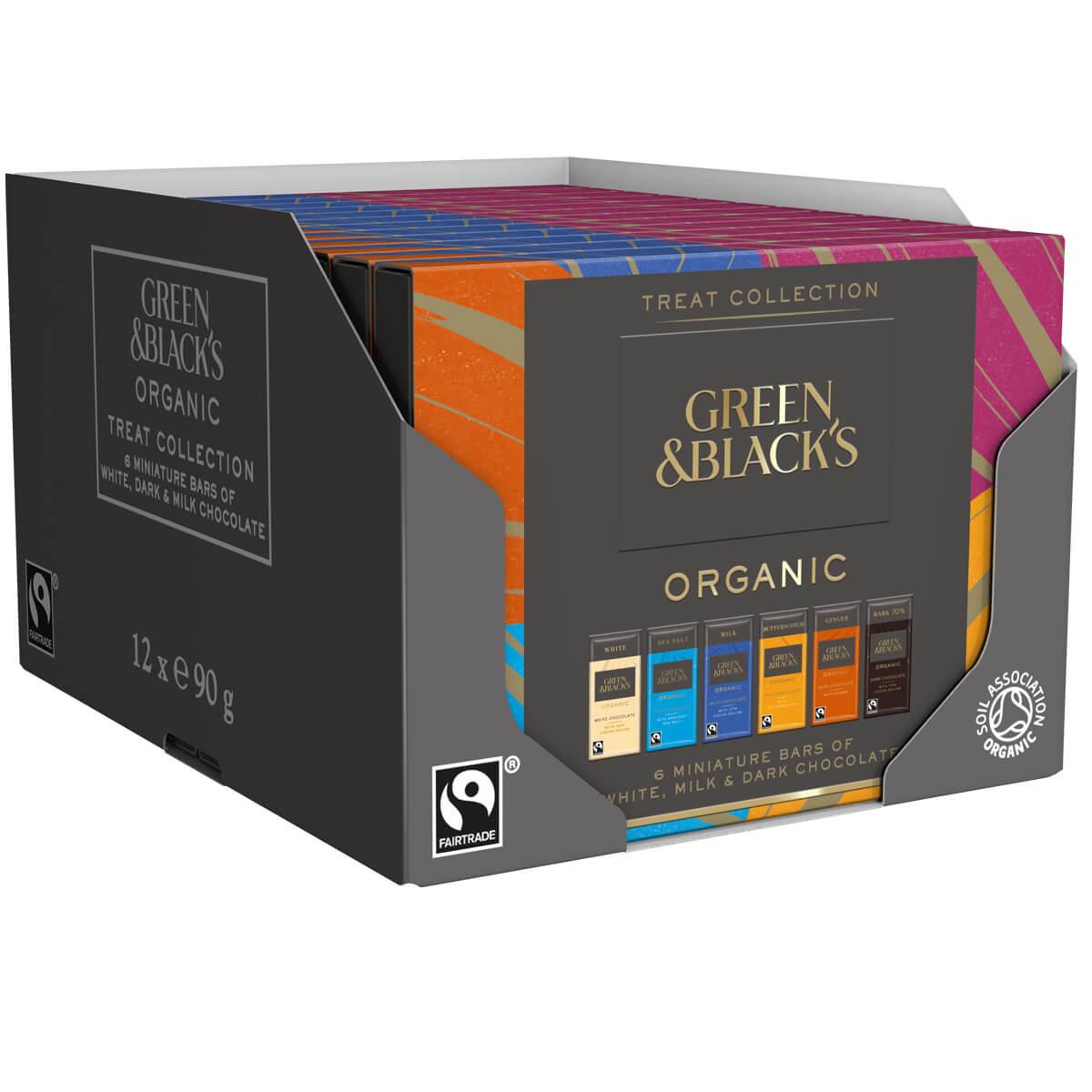 GB Organic Treat Collection 90g (Box of 12)