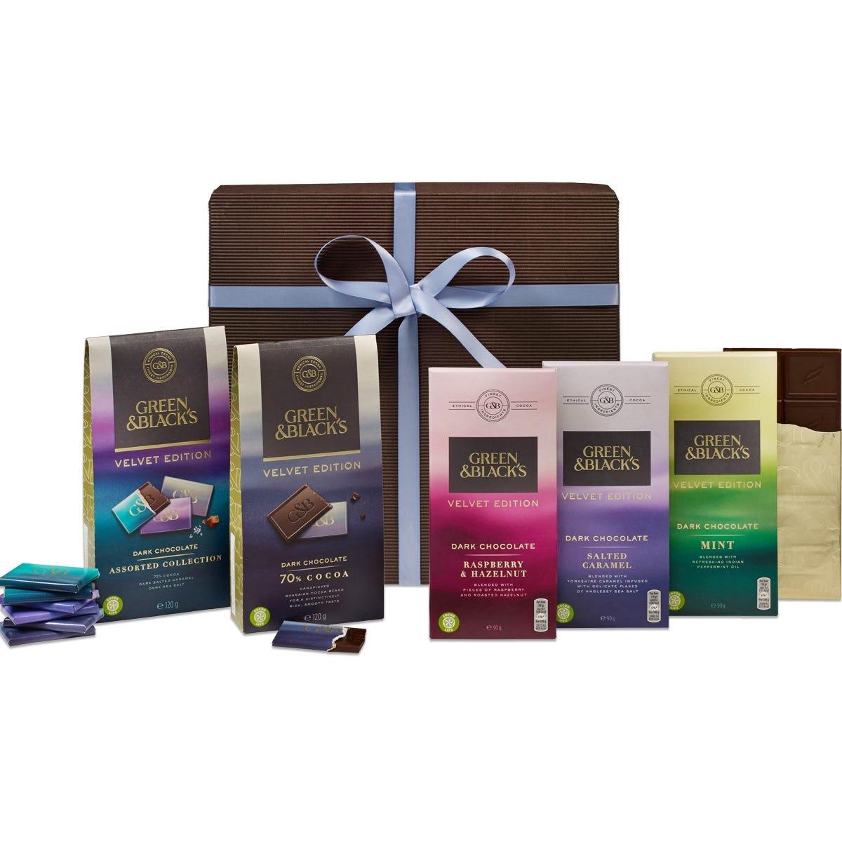G&B's Velvet Edition Dark Chocolate Gift- Med