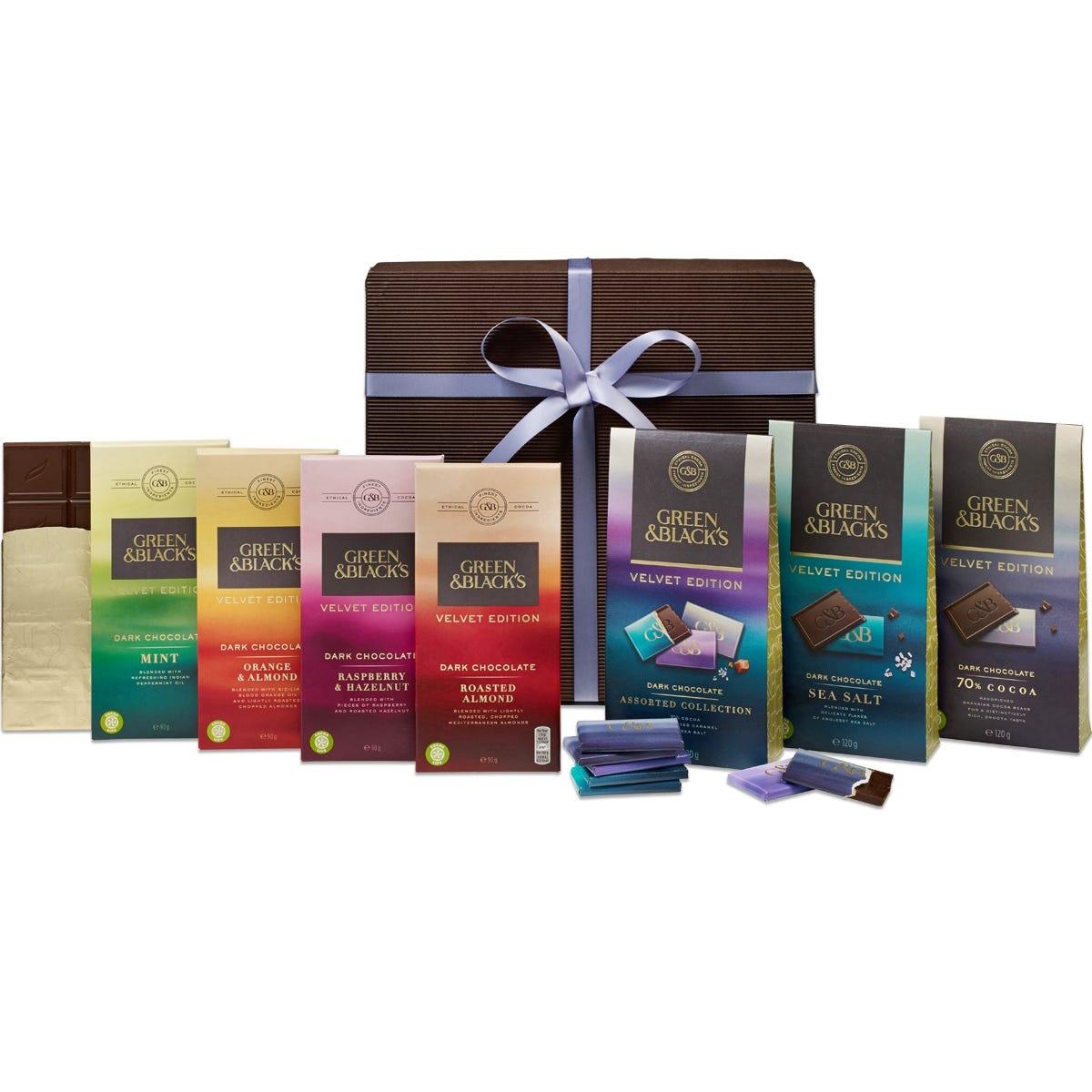 G&B's Velvet Edition Dark Chocolate Gift- Large