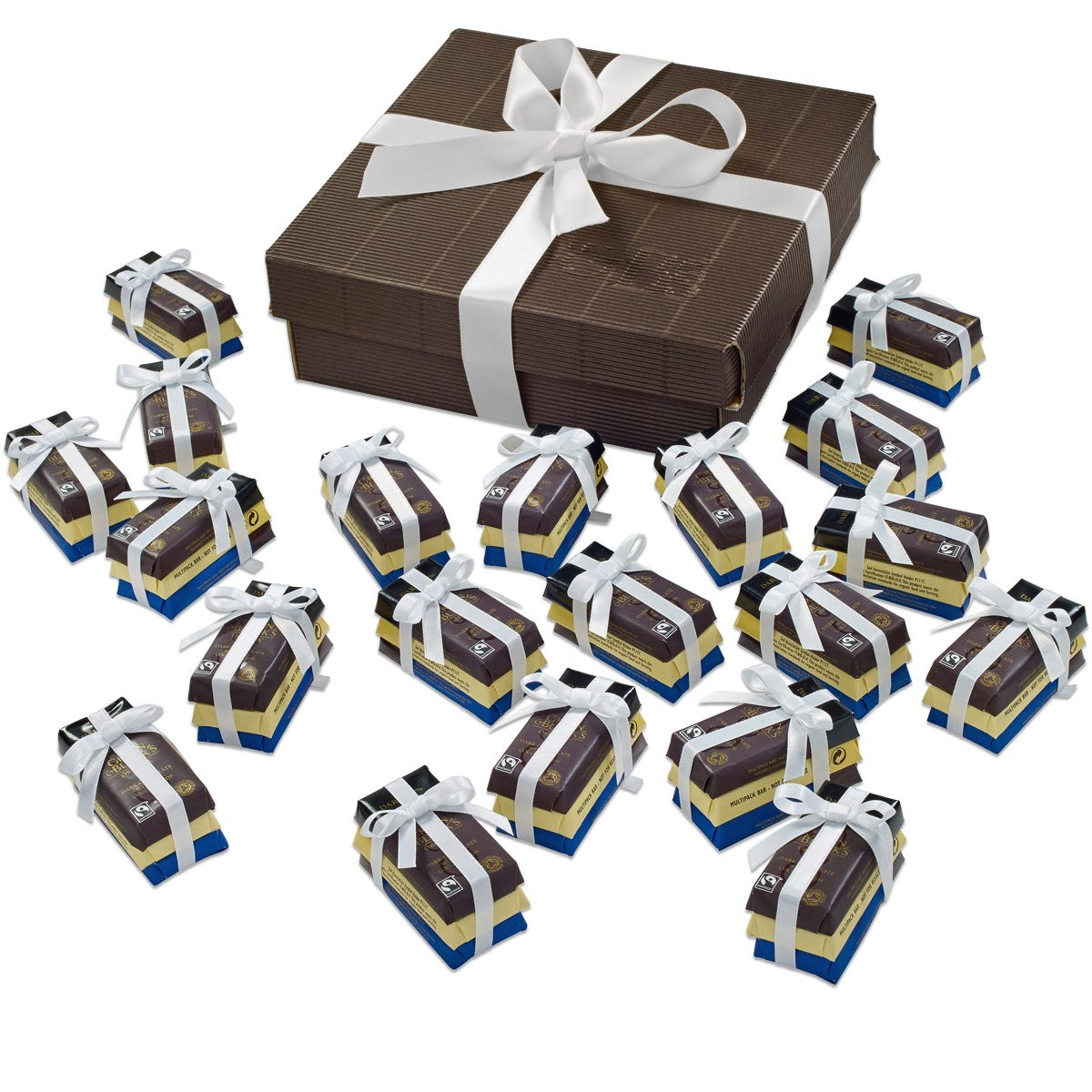 Chocolates G&B's Wedding Favours - White