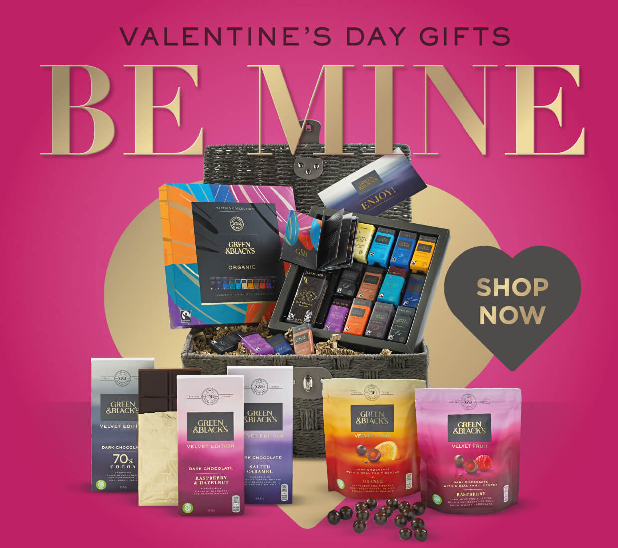 Green & Black's Valentine Gifts