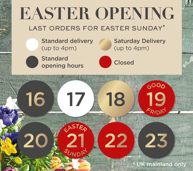 Green & Black's Easter Egg Hampers