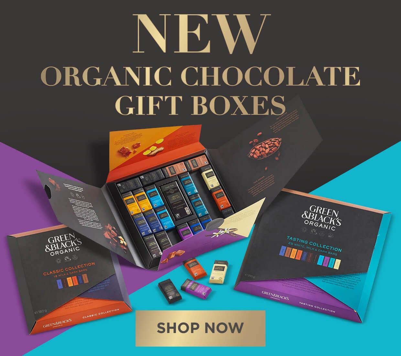 Green & Black's Organic Chocolate New Gifts