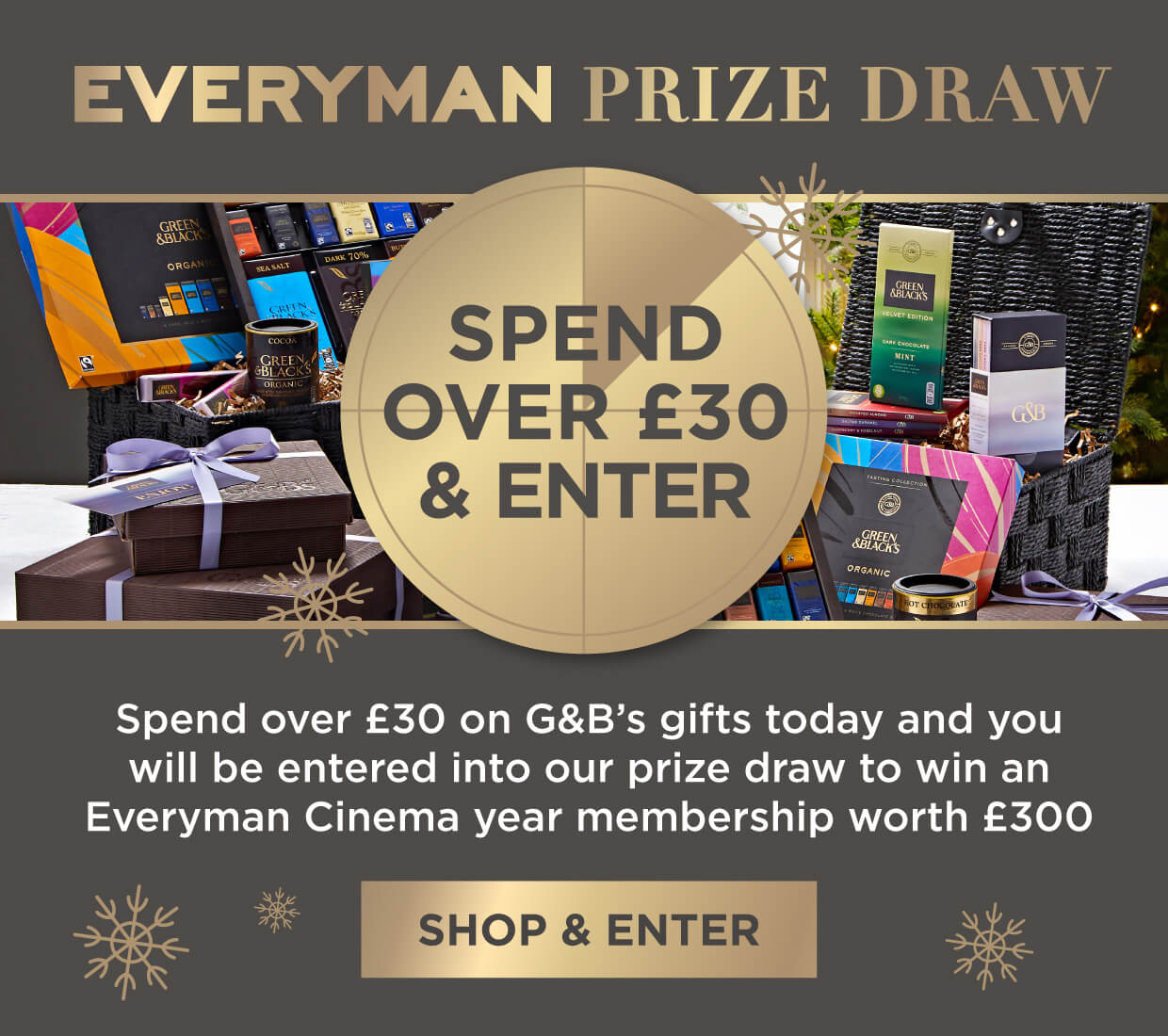 Green & Black's Everyman Offer
