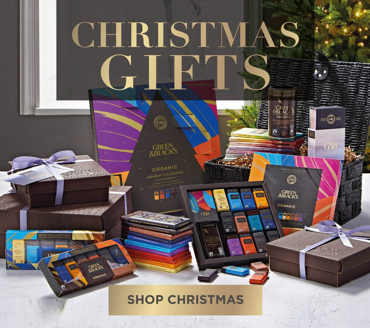 Green & Blacks Christmas Chocolate Gifts Range