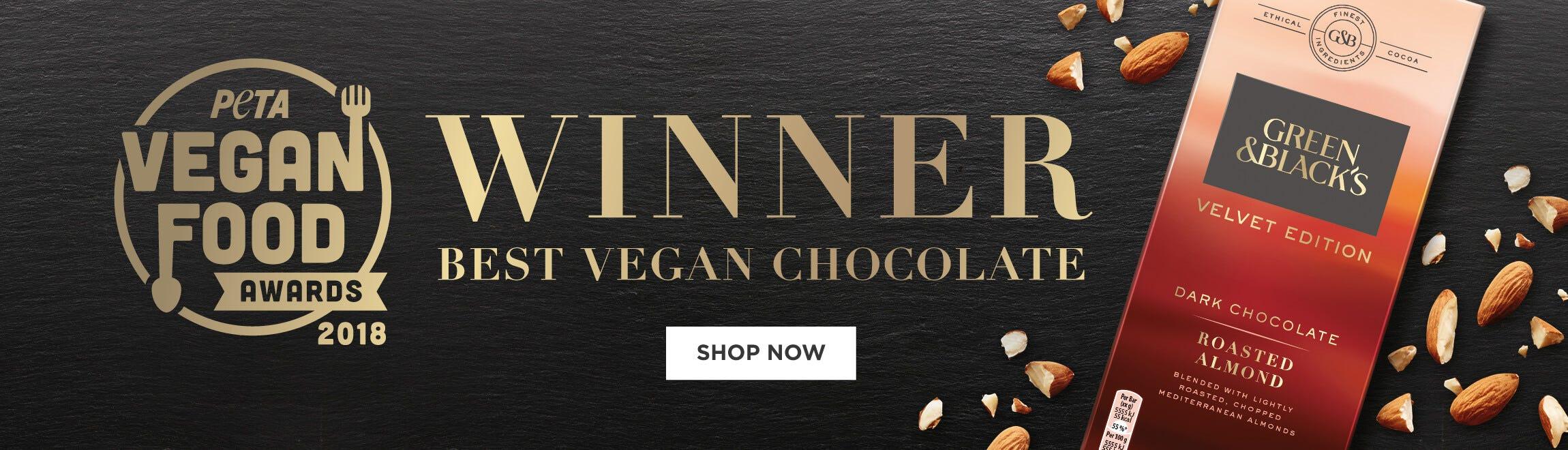 Green & Blacks Vega Peta Award 2018