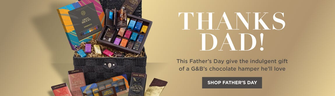 G&B's Father's Day chocolate gifts