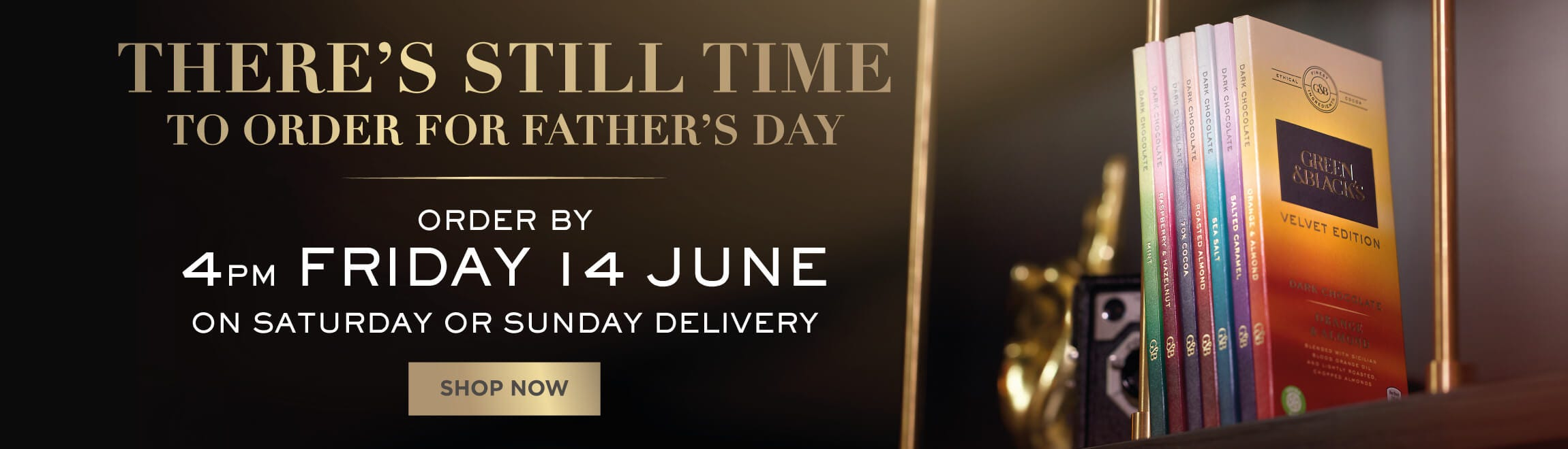 Still time to order for Father's Day