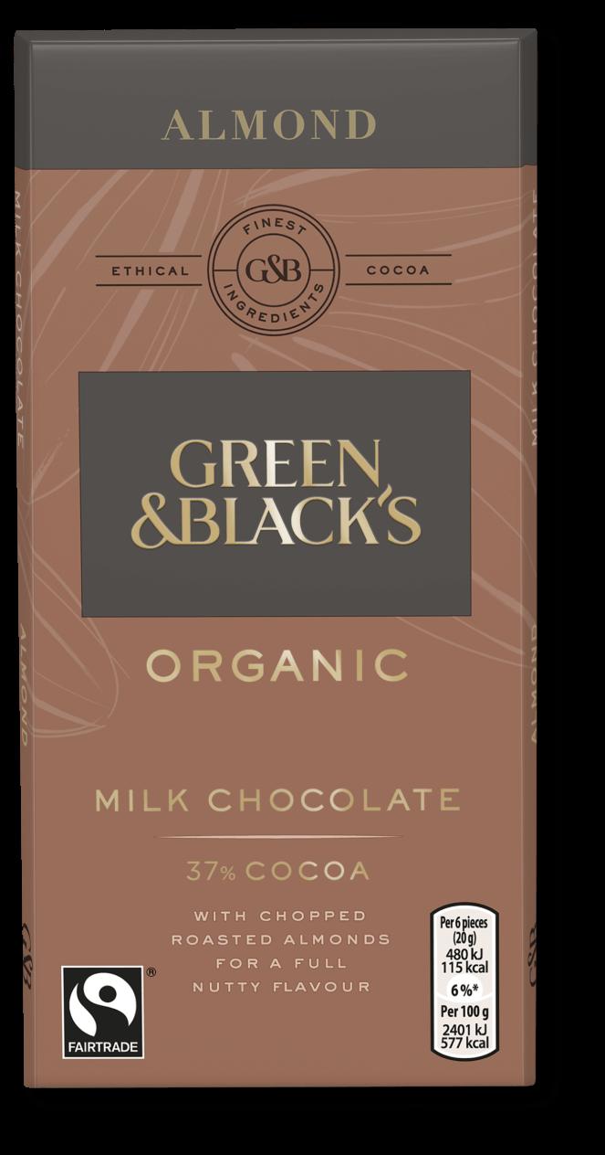 Green & Black's Organic Almond Bar