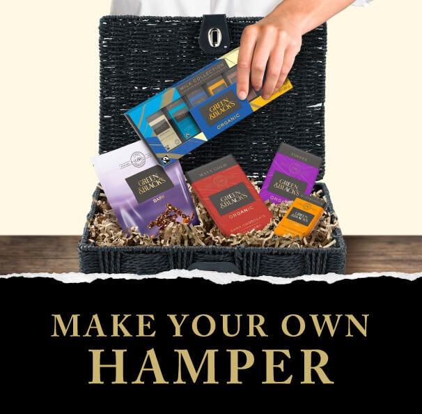 Make your own Cadbury hamper