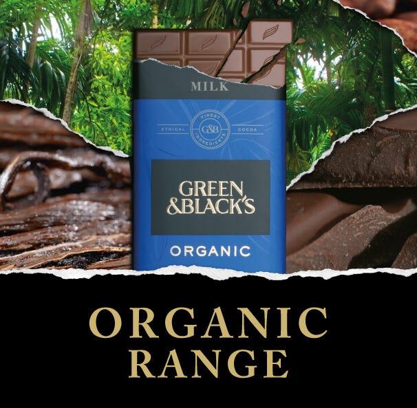 Green & Blacks Organic Chocolate Range