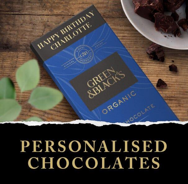Personalised Cadbury Chocolate